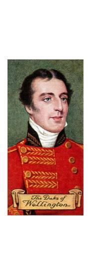 The Duke of Wellington, taken from a series of cigarette cards, 1935. Artist: Unknown-Unknown-Giclee Print