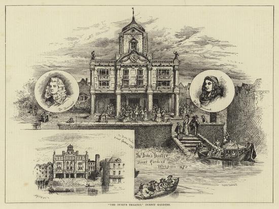 The Duke's Theatre, Dorset Gardens--Giclee Print