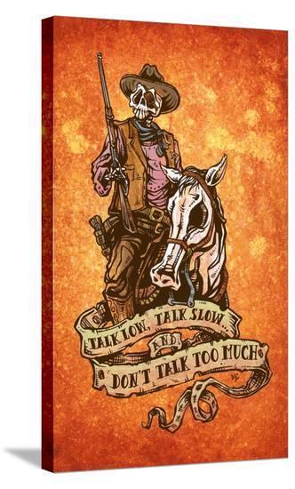 The Duke-David Lozeau-Stretched Canvas Print