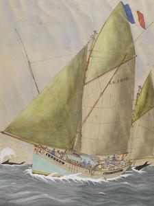 The Dundee: Yvonne Samuel, Port of Sables D'Olonne