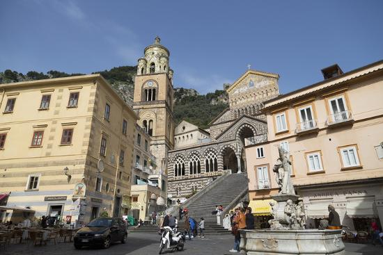 The Duomo Cattedrale Sant' Andrea in Amalfi-Martin Child-Photographic Print