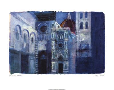 The Duomo, Florence-Ann Oram-Art Print