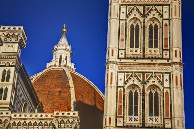 The Duomo of Florence with Evening Light-Terry Eggers-Photographic Print