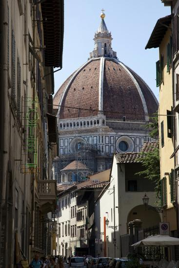 The Duomo Seen Through a Side Street in Florence, Italy-Scott S^ Warren-Photographic Print