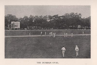 The Durban Oval, South Africa, 1912--Giclee Print