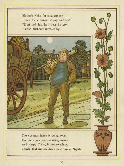 The Dustman Is Coming-Thomas Crane-Giclee Print