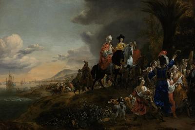The Dutch Ambassador on His Way to Isfahan, 1653-59-Jan Baptist Weenix-Giclee Print