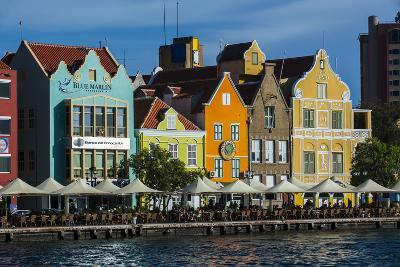 The Dutch Houses at Sint Annabaai in Willemstad, UNESCO Site, Curacao, ABC Is, Netherlands Antilles-Michael Runkel-Photographic Print