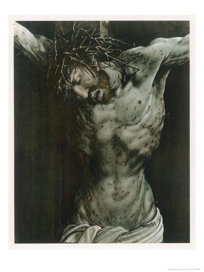 The Dying Jesus-Matthias Gr?newald-Giclee Print