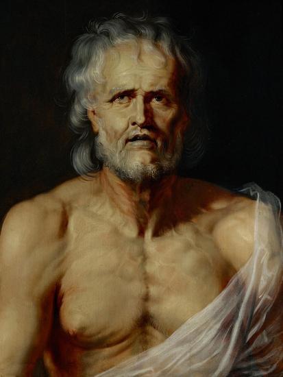 The Dying Seneca-Peter Paul Rubens-Giclee Print