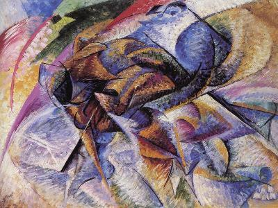 The Dynamism of a Cyclist-Umberto Boccioni-Giclee Print