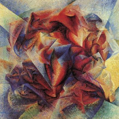 The Dynamism of a Soccer Player-Umberto Boccioni-Giclee Print