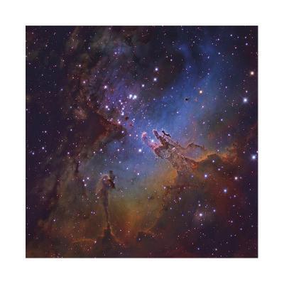 The Eagle Nebula in Serpens-Robert Gendler-Giclee Print