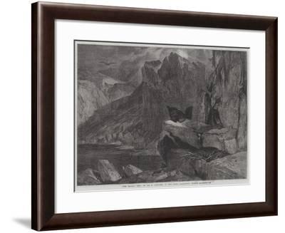 The Eagle's Nest-Edwin Landseer-Framed Giclee Print
