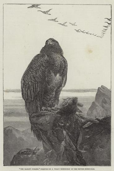 The Eagle's Throne, Exhibition of the British Institution-Samuel Read-Giclee Print