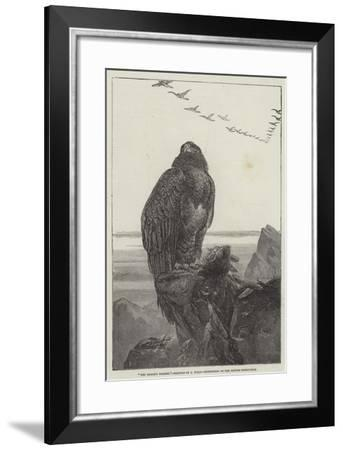 The Eagle's Throne, Exhibition of the British Institution-Samuel Read-Framed Giclee Print