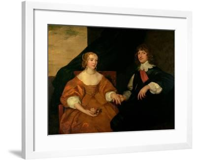 The Earl and Countess of Bedford-Sir Anthony Van Dyck-Framed Giclee Print