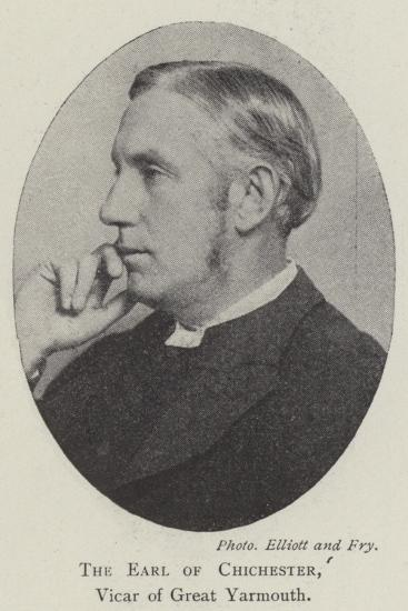 The Earl of Chichester, Vicar of Great Yarmouth--Giclee Print