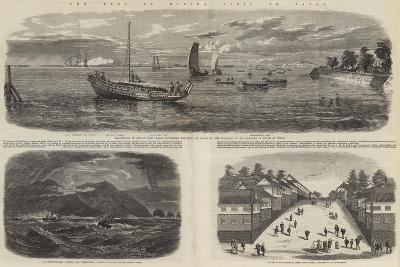 The Earl of Elgin's Visit to Japan-Richard Principal Leitch-Giclee Print