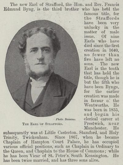 The Earl of Strafford--Giclee Print