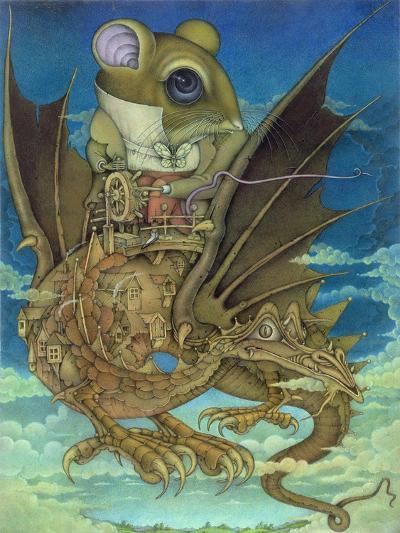 The Earth Grew Near, 1983-Wayne Anderson-Giclee Print