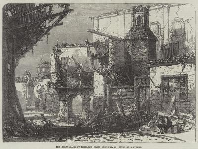 The Earthquake at Mitylene, Greek Archipelago, Ruins of a Street--Giclee Print