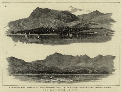 The Earthquake at Scio--Giclee Print