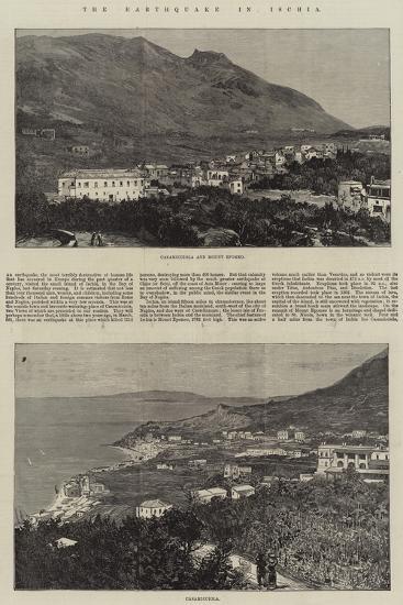 The Earthquake in Ischia--Giclee Print