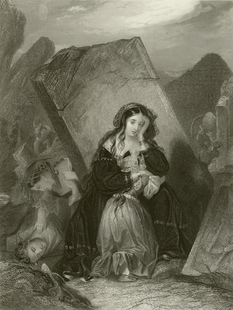 The Earthquake-Edward Henry Corbould-Giclee Print