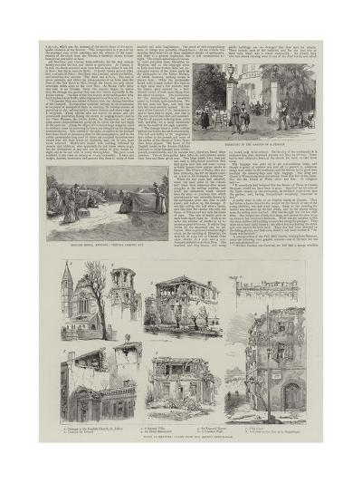 The Earthquakes in France and Italy--Giclee Print