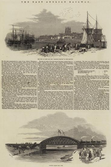 The East Anglian Railway--Giclee Print