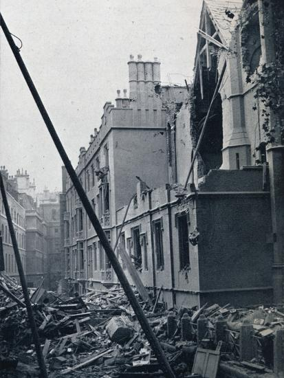 'The East End of the Middle Temple Hall', 1941-Unknown-Photographic Print