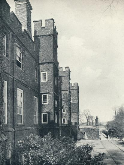 'The East Front of the College', 1926-Unknown-Photographic Print