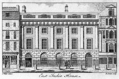 The East India House, City of London, Late 18th Century-B Green-Giclee Print