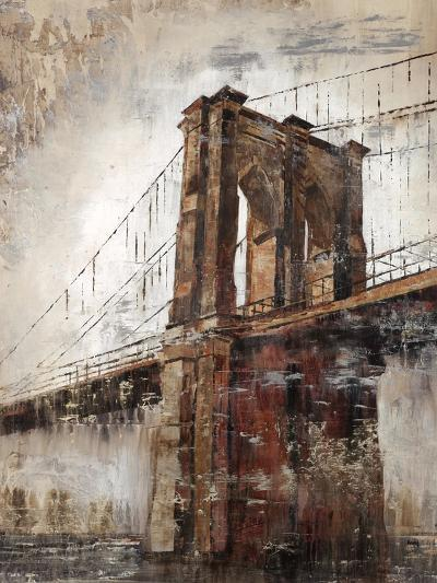The East River Bridge-Alexys Henry-Giclee Print