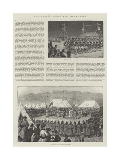 The Easter Volunteer Manoeuvres--Giclee Print