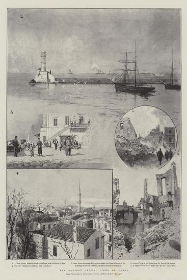 The Eastern Crisis, Views of Canea-Joseph Holland Tringham-Giclee Print