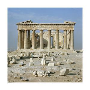 The Eastern Facade of the Parthenon