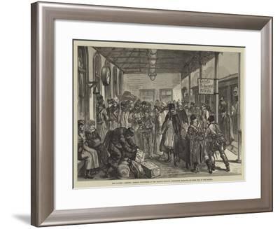 The Eastern Question-Johann Nepomuk Schonberg-Framed Giclee Print