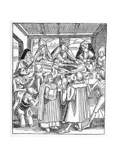 The Eaters of the Dead, Satirical Artwork-Science Photo Library-Giclee Print