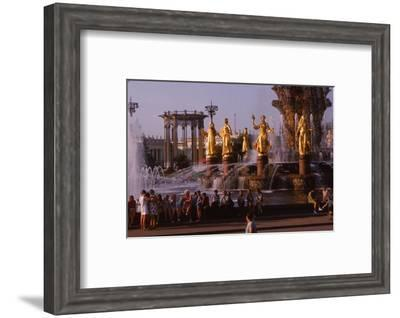 The Economic Achievements Exhibition, Moscow, c1960s-CM Dixon-Framed Photographic Print