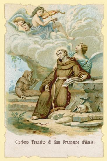 The Ecstasy of St Francis of Assisi--Giclee Print