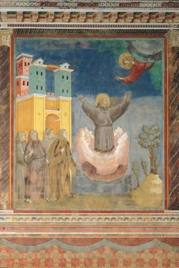 The Ecstasy of St Francis-Giotto di Bondone-Giclee Print