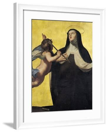 The Ecstasy of St. Theresa-Jean Baptiste de Champaigne-Framed Giclee Print