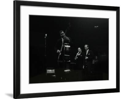 The Eddie Condon All Stars on Stage at Colston Hall, Bristol, 1957-Denis Williams-Framed Photographic Print