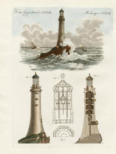 The Eddystone Lighthouse--Giclee Print