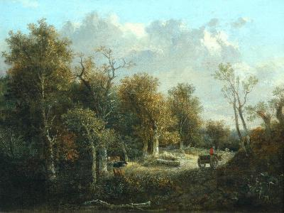The Edge of the Forest-John Crome-Giclee Print