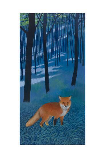 The Edge of the Woods-Kathrine Lovell-Art Print