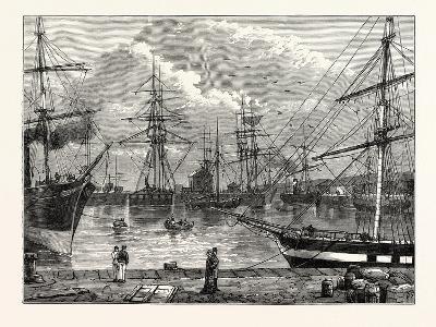 The Edinburgh Dock Leith--Giclee Print