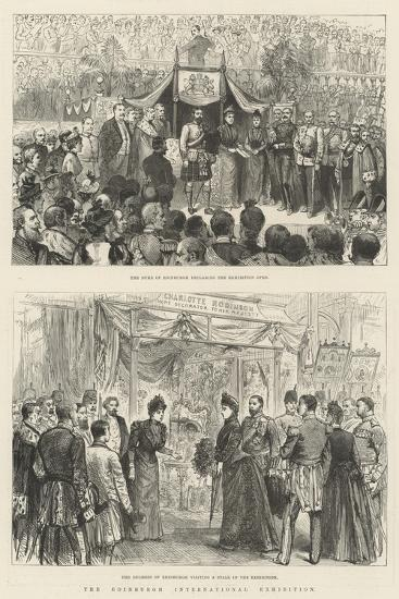 The Edinburgh International Exhibition-Melton Prior-Giclee Print